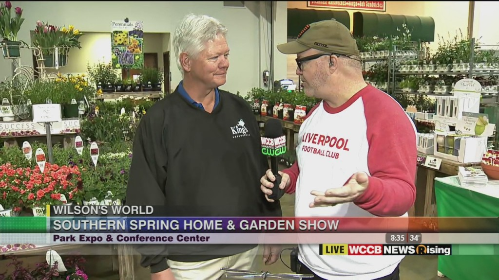 Wilson's World: Previewing The 2020 Southern Spring Home & Garden Show At The Park Expo 2 28 20