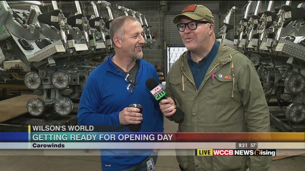 Wilson's World: Getting Ready For Opening Day At Carowinds 3 3 20