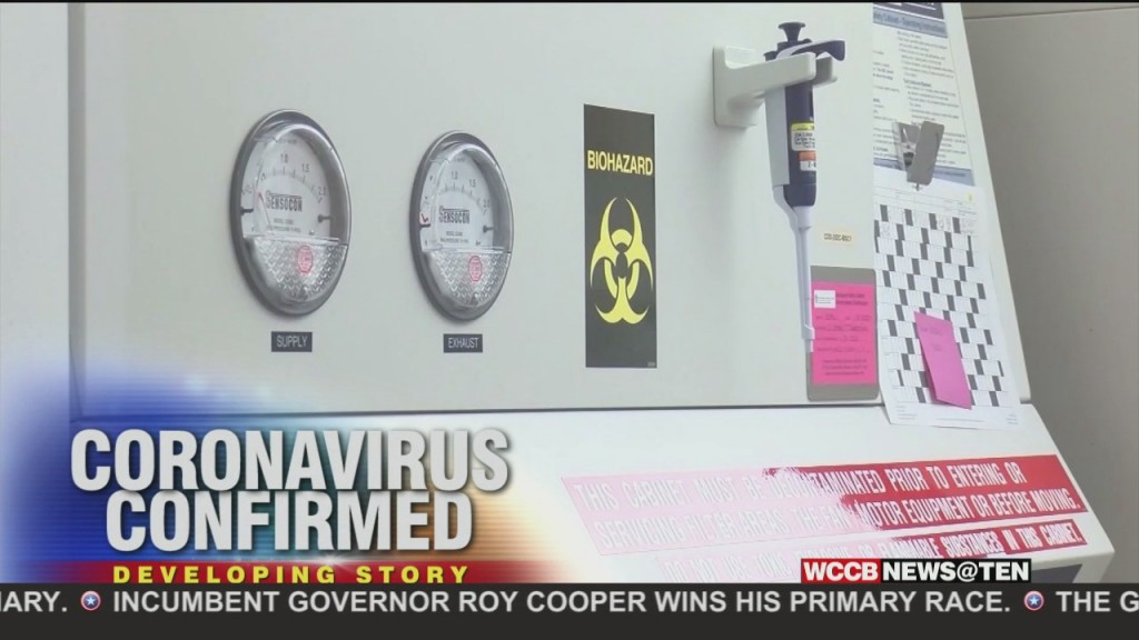 Coronavirus Confirmed In North Carolina