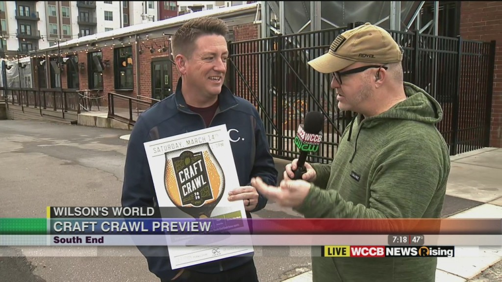 Wilson's World: Previewing The Upcoming Craft Crawl In South End