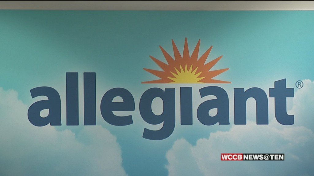 Allegiant Airlines To Build Air Base At Concord Airport