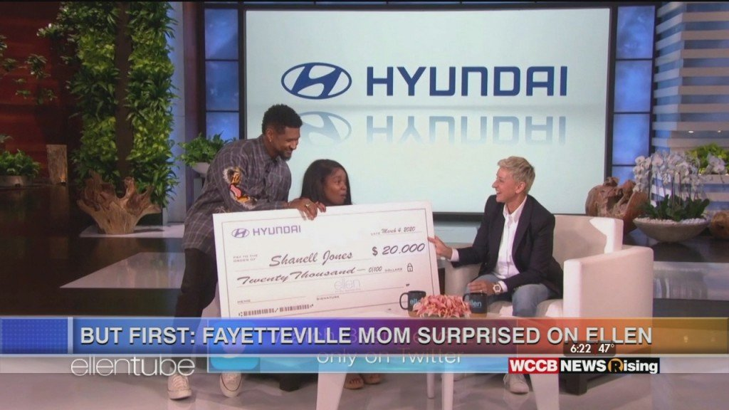 North Carolina Mother Surprised On The Ellen Show