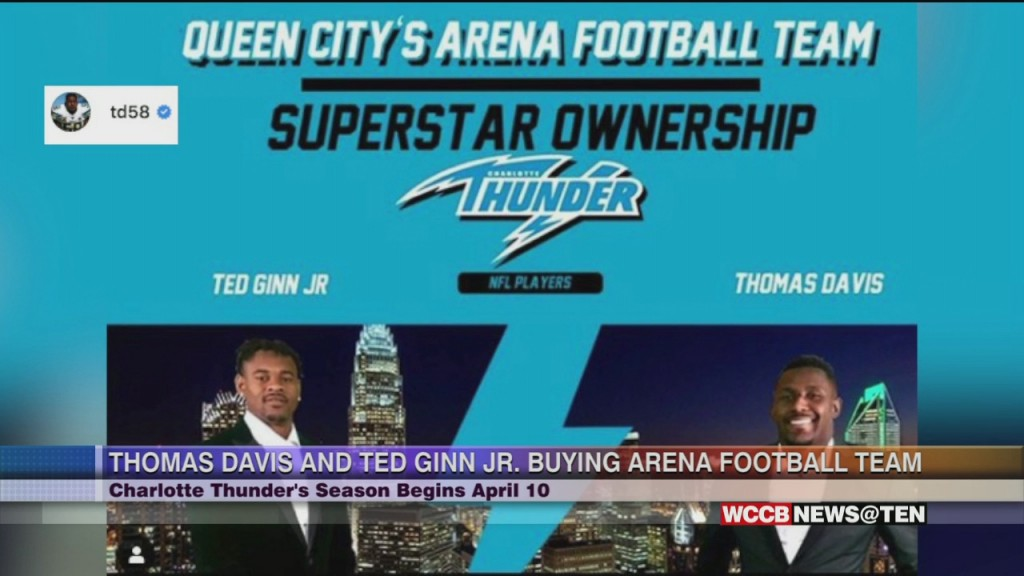 Thomas Davis And Ted Ginn Jr. Buy Charlotte Arena Football Team