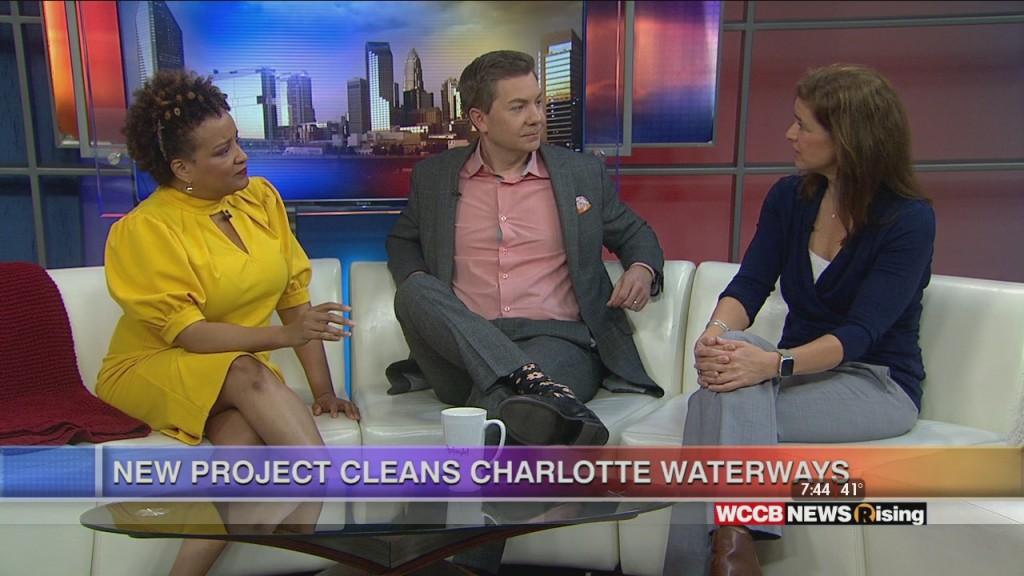 The Litter Gitter Cleans Charlotte Waterways