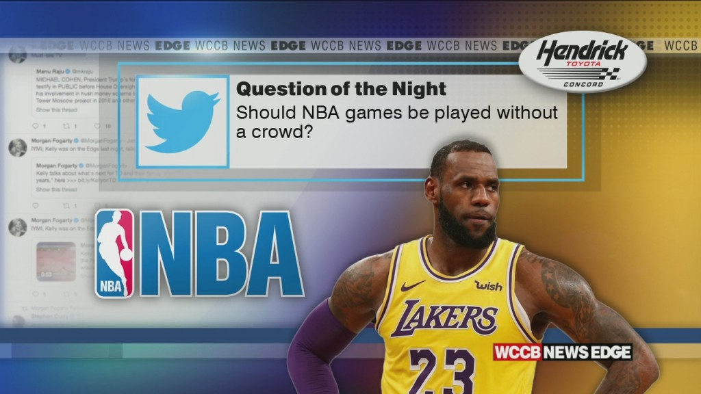 Should Nba Games Be Played Without A Crowd?