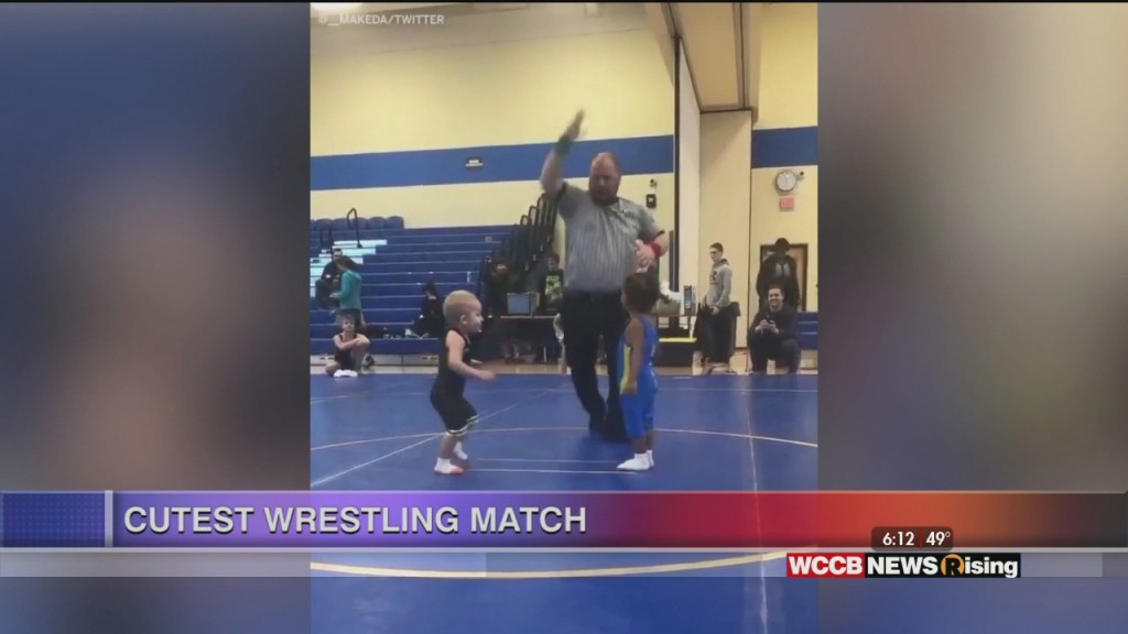 Viral Videos: Singing Cop & Cute Wrestling Match