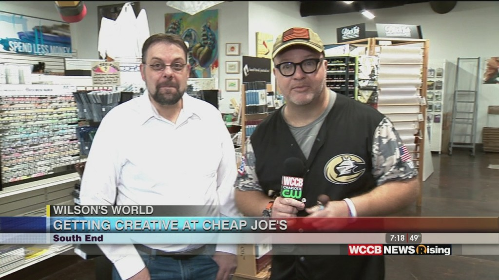 Wilson's World: Exploring The Aisles At Cheap Joe's Art Stuff In South End