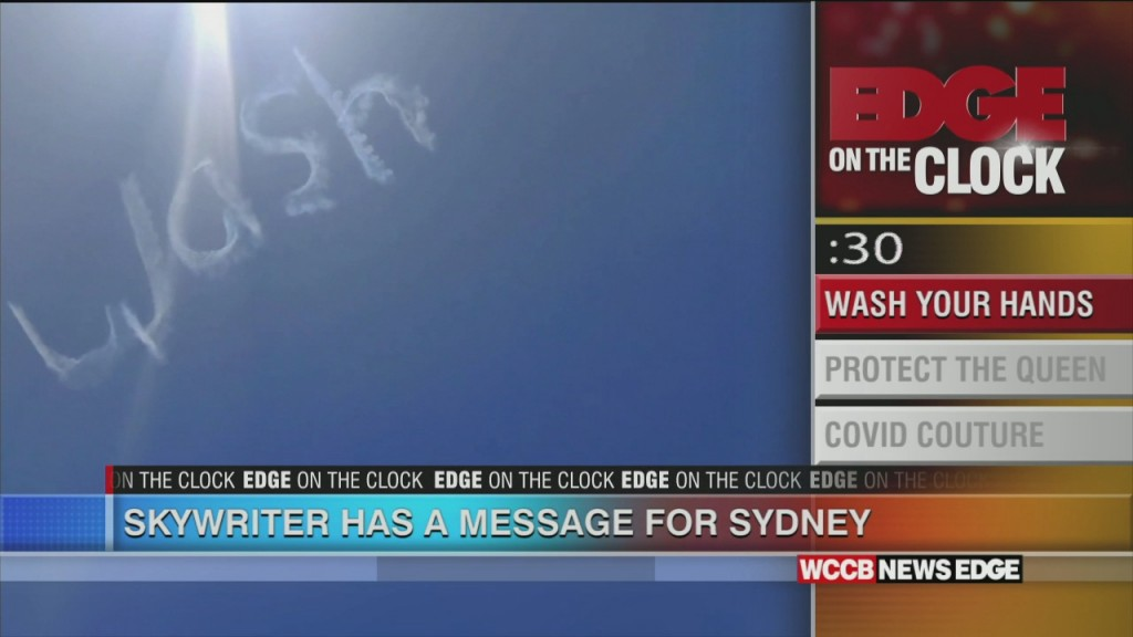 Skywriter Has Message For Sydney