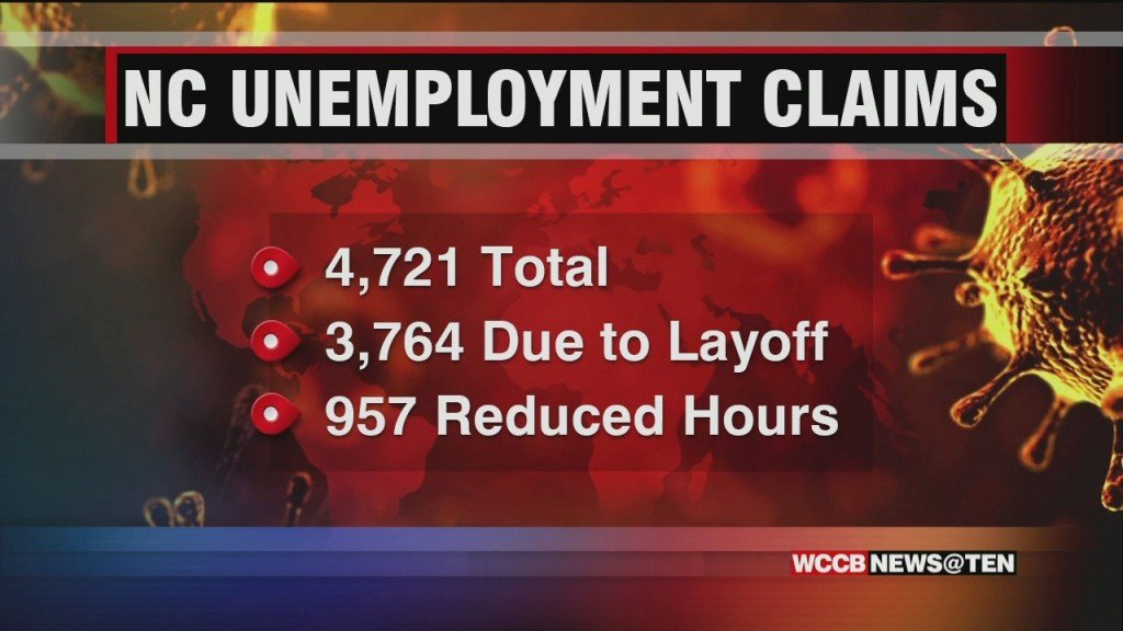 Overwhelming Demand For Unemployment Benefits In North Carolina