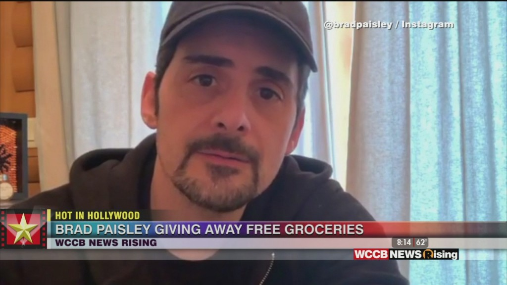 Hot In Hollywood: Drake In Isolation And Brad Paisley Launches Free Grocery Store