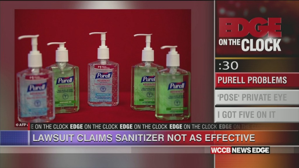 Lawsuit Claims Sanitizer Not As Effective