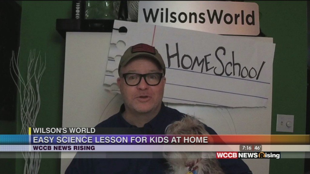 Wilson's World: Homeschooling Wilson's World Style And Good News From The Weekend