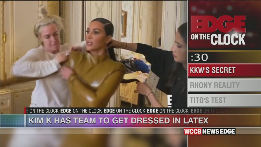 Kim K Has Team To Get Dresses In Latex