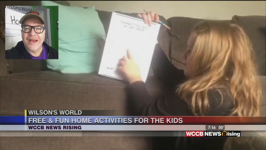 Wilson's World: A Mid Week Wilson Homeschool Class With Fun Activites For The Kids And A Way To Help Small Businesses