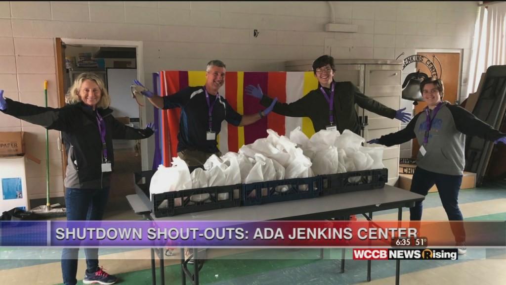 Ada Jenkins Center Distributes Meals For Kids