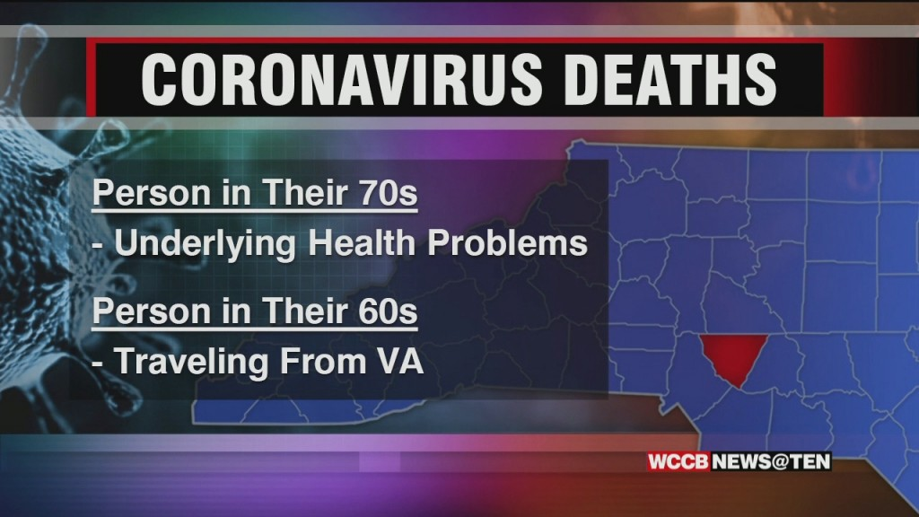 First Deaths From Coronavirus In Nc Reported