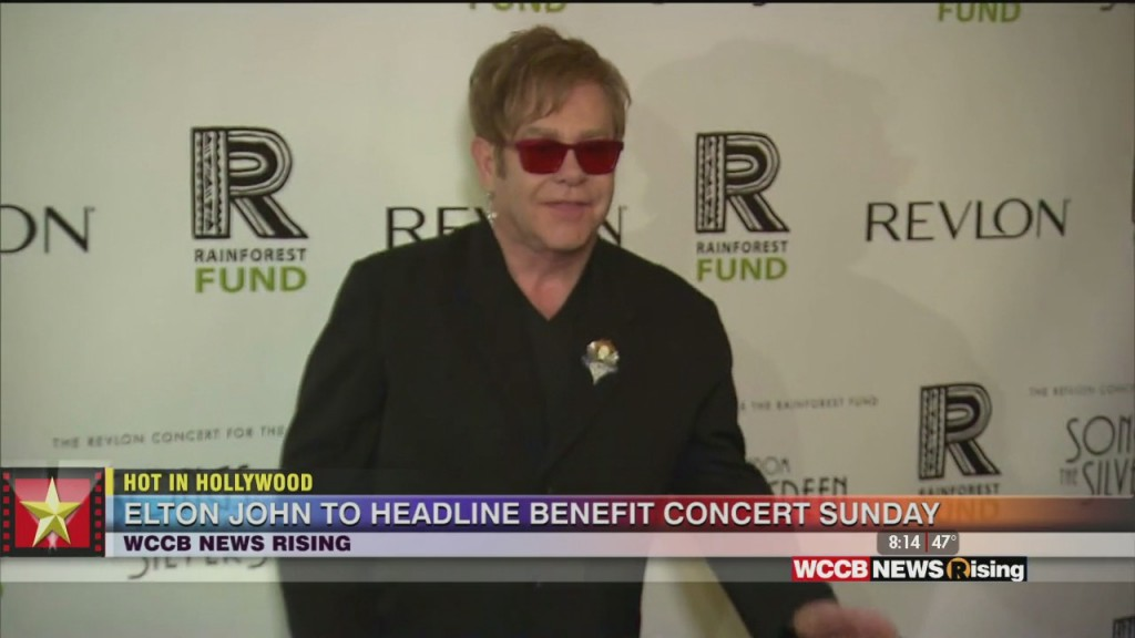 Hot In Hollywood: Elton John To Host All Star Benefit Concert And Kevin Hart Welcomes Another Child