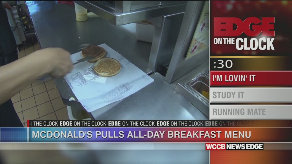 Mcdonald's Pulls All Day Breakfast Menu