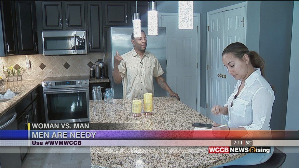 Woman Vs. Man: Men Are Needy