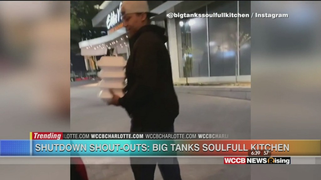 Shutdown Shout Out: Big Tank Soulfull Kitchen