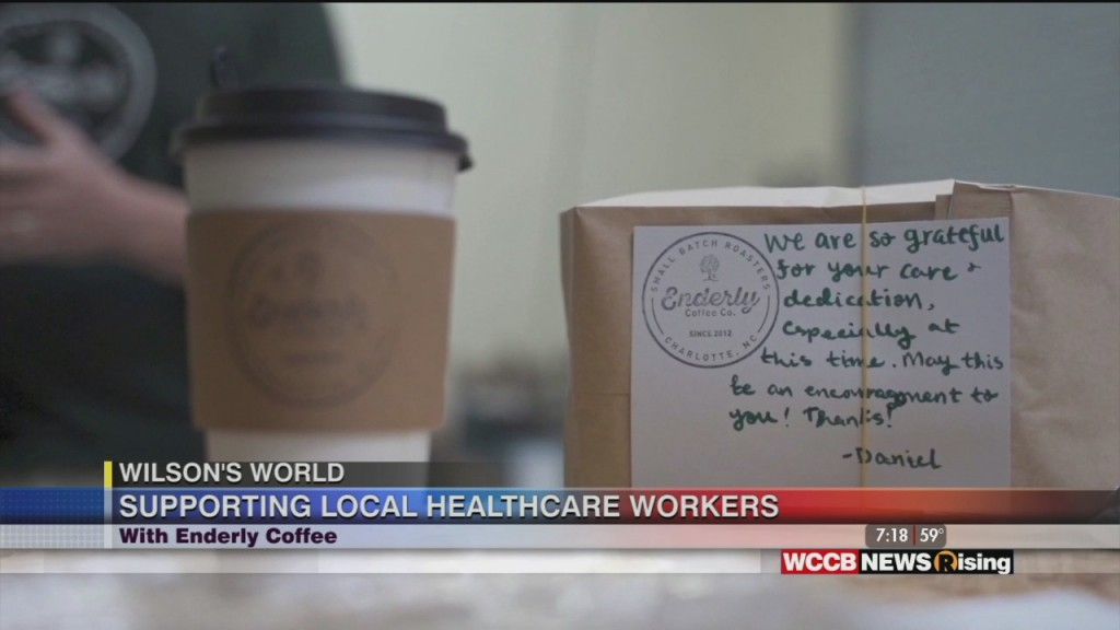Wilson's World: Enderely Coffee Supporting Healthcare Professionals And A Vist With Hannah