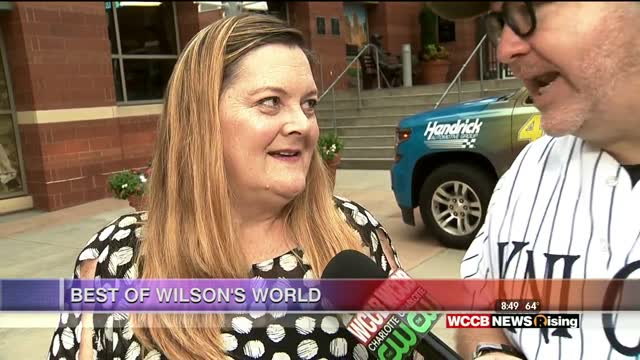"Best Of Wilson's World: Hot Glass Alley, Orchard Park Elementary, Celebrating Women In Baseball, Megan Cavanagh From ""a League Of Their Own"", And Talking Science At Charlotte Motor Speedway"