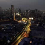 A Road Is Seen Deserted In Mumbai, India, Friday, March 27, 2020.
