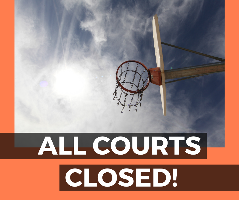 Meck County Park Courts Closed