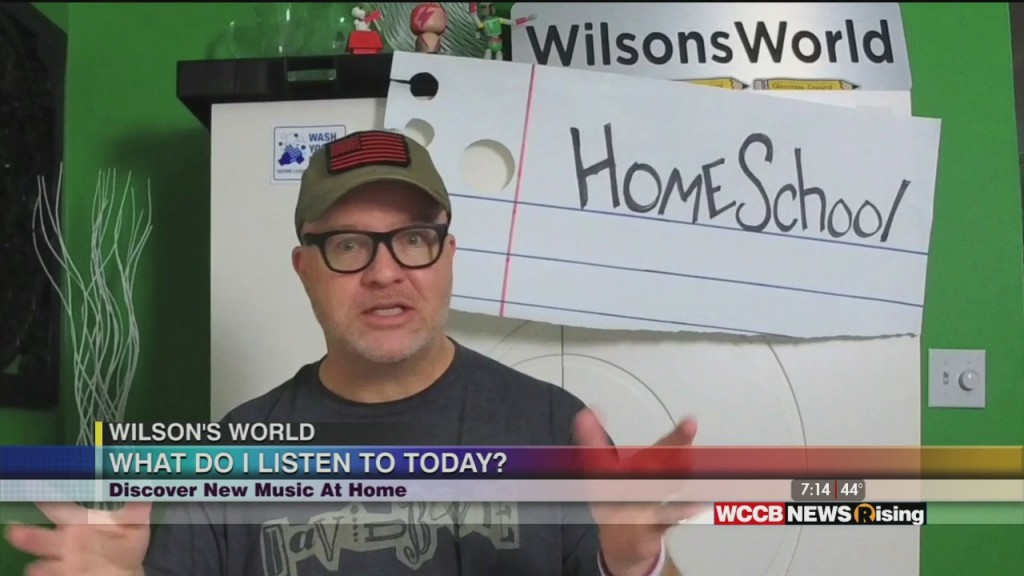 Wilson's World: Discovering New Music While Staying Home And Learning More About Phishing Scams