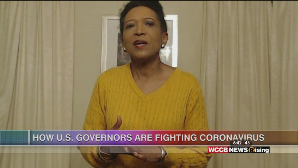 Mary C. Curtis:how U.s. Governors Are Fighting Coronavirus