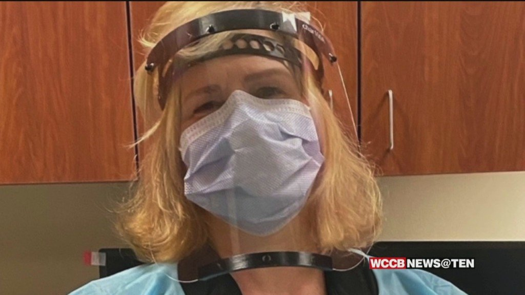 Unc Charlotte Faculty And Charlotte Latin School Team Up To Make Face Shields Through 3 D Printing