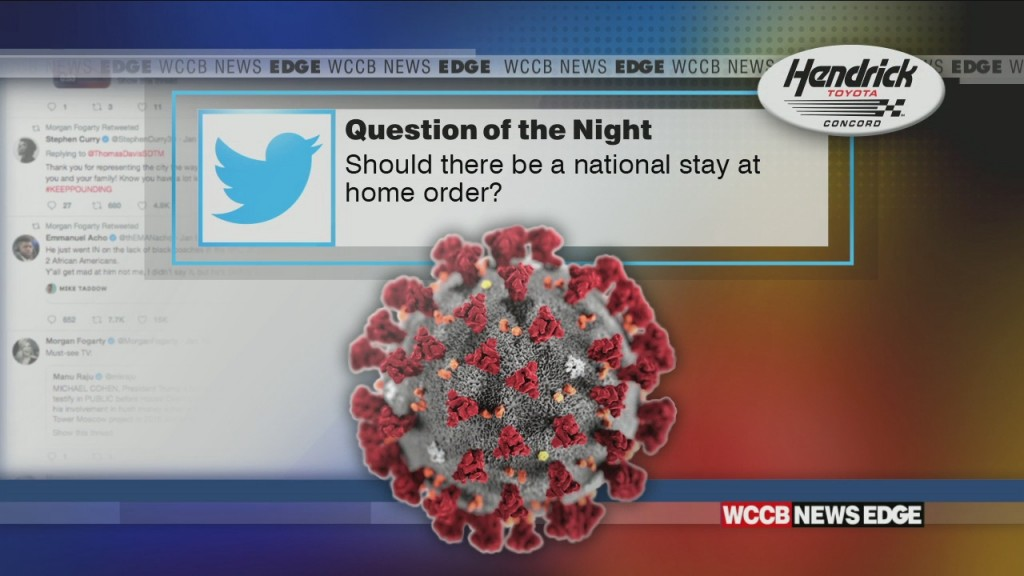 Should There Be A National Stay At Home Order?