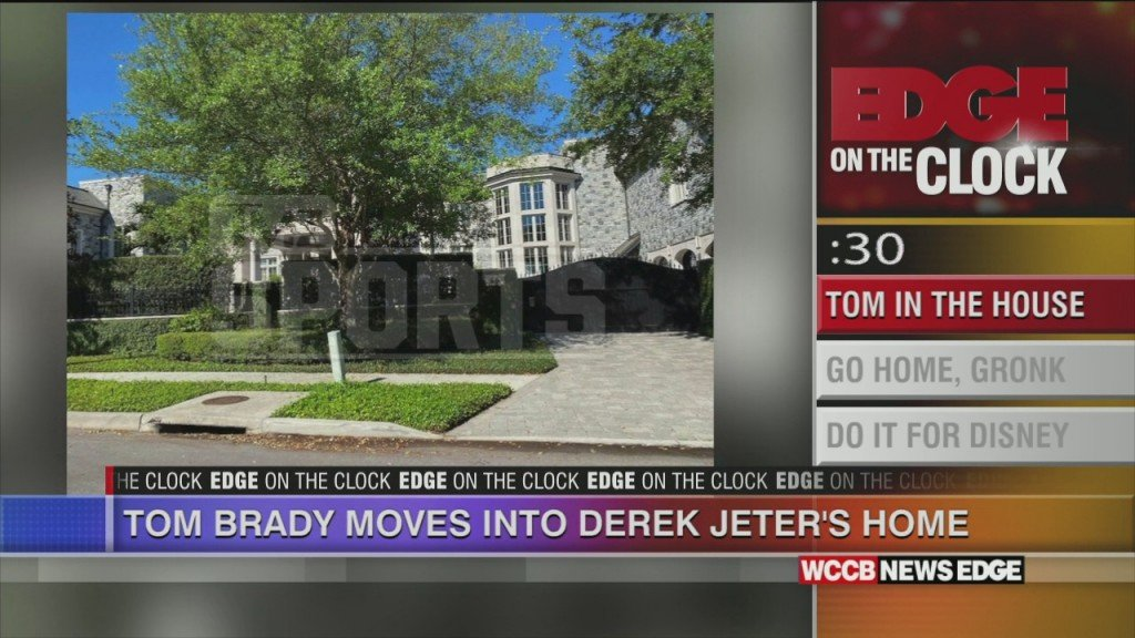 Brady Moves Into Jeter's House