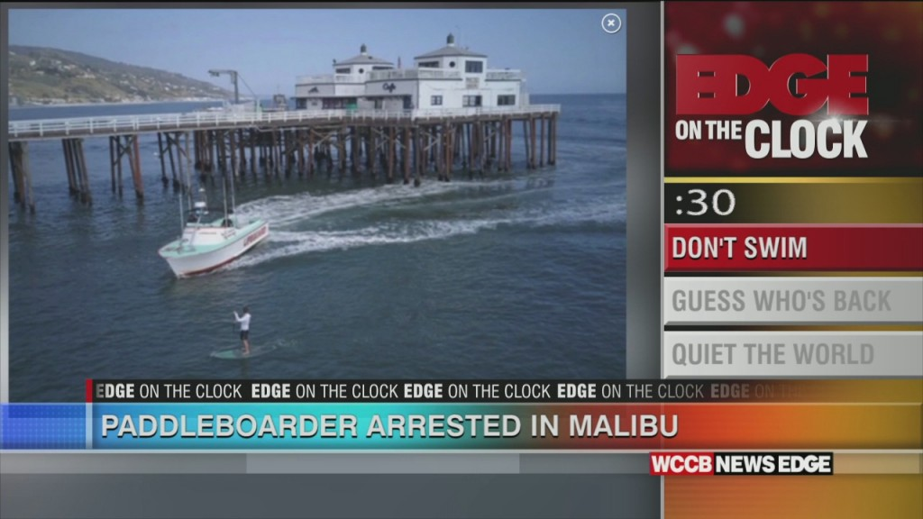Paddleboarder Arrested In Malibu