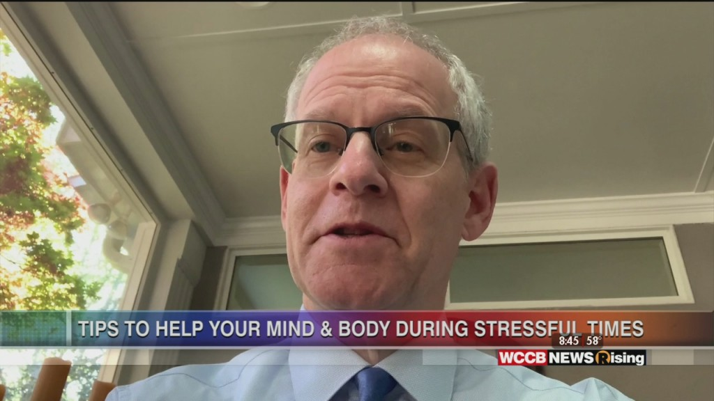 Healthy Headlines: Novant Health Tips To Help Mind & Body During Stressful Times