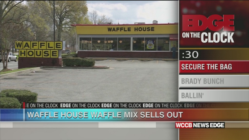 Waffle House Waffle Mix Sells Out