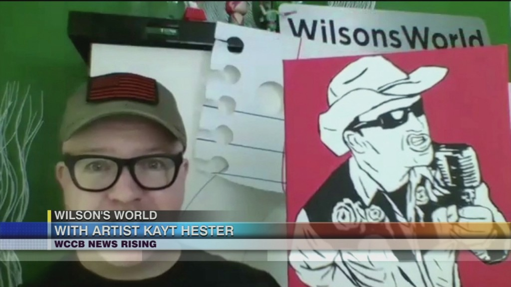 Wilson's World Home School With Artist Kayt Hester