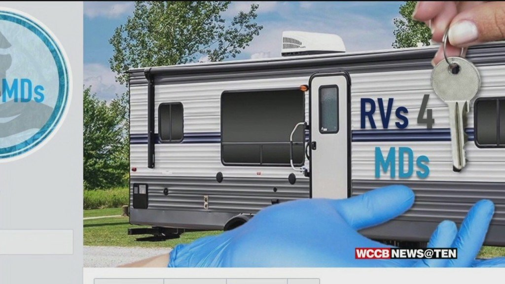 Rv Owners Are Opening Their Doors To Lend A Helping Hand To Health Care Providers.