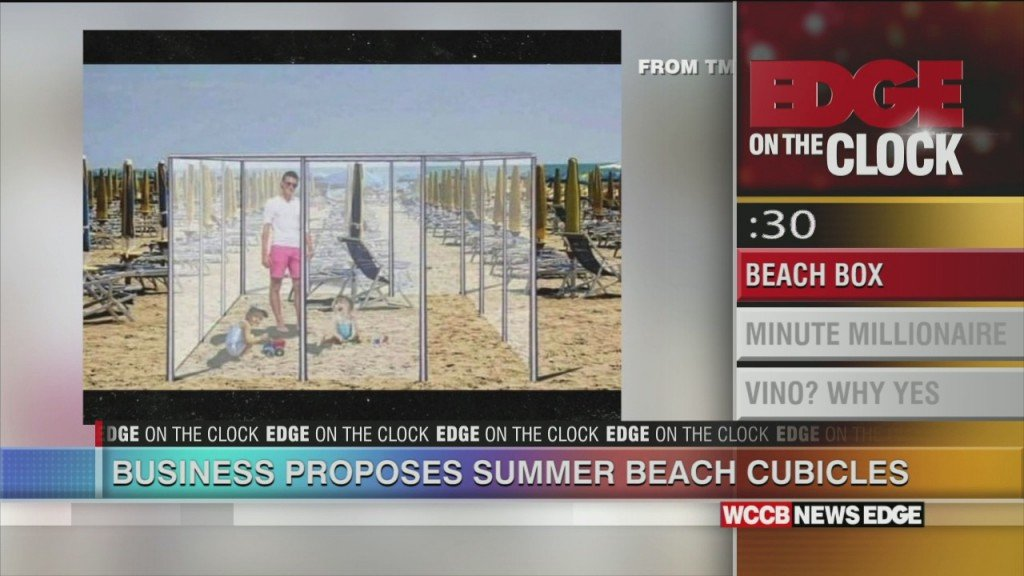 Business Proposes Beach Cubicles