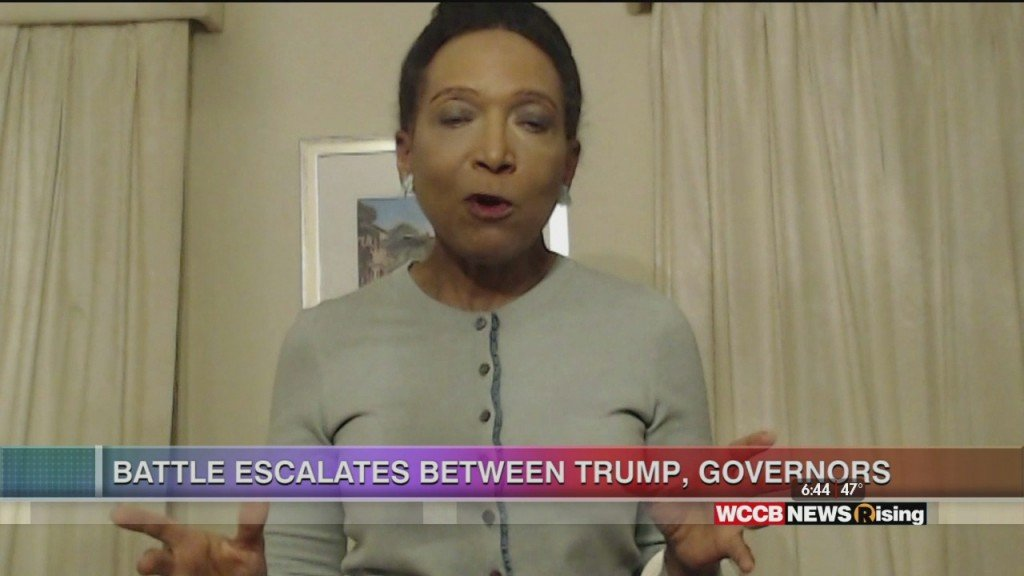 Mary C. Curtis: Battle Escalates Between Trump, Governors
