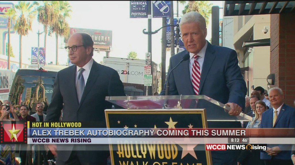 Hot In Hollywood: Alex Trebek Announces New Book And 'american Idol' Filming From Home