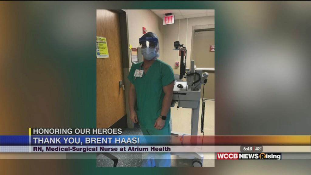 Honoring Our Heroes: Atrium Health Honors Nurse Brent Haas