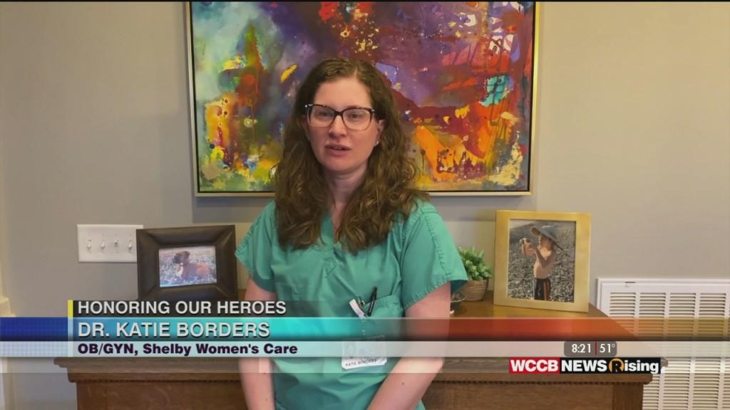 Honoring Our Heroes: Atrium Health Honors Dr. Katie Borders