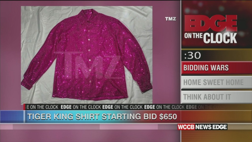 Tiger King Shirt Bidding Starts At $650