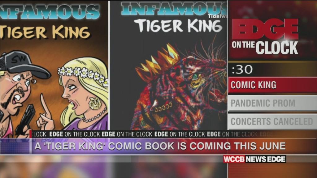 Tiger King Comics Coming