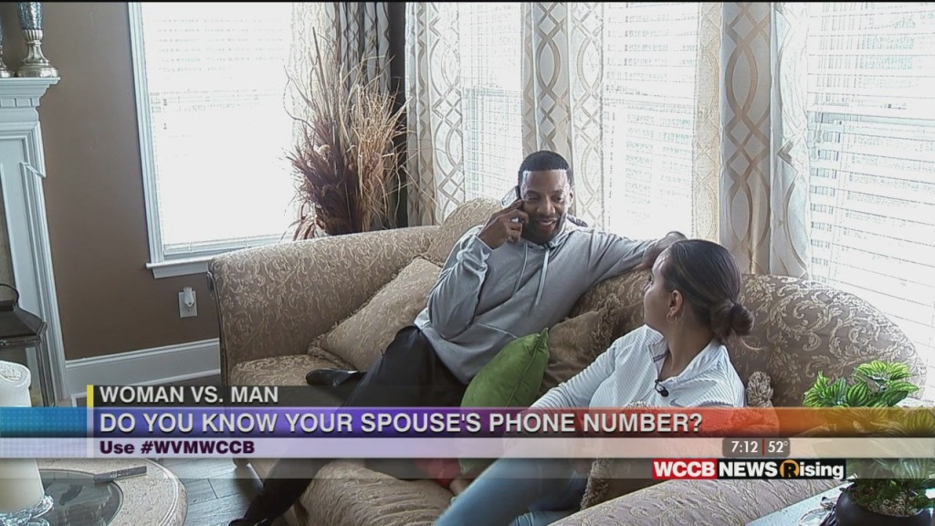 Woman Vs. Man: Know Your Spouse's Number