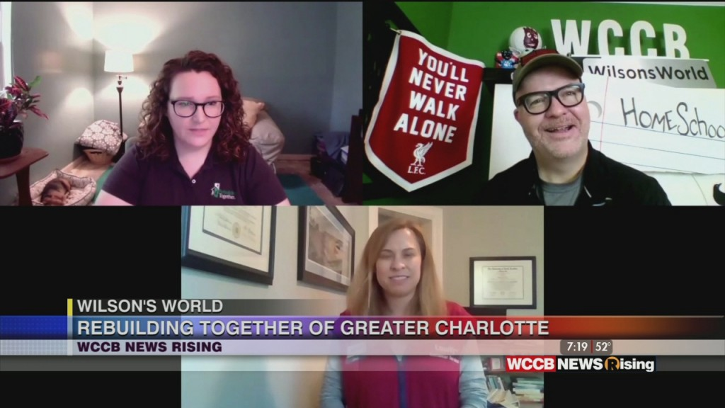 Wilson's World: Rebuilding Together Of Greatr Charlotte And Cleaning Up Storm Damage With Heartwood Tree Service