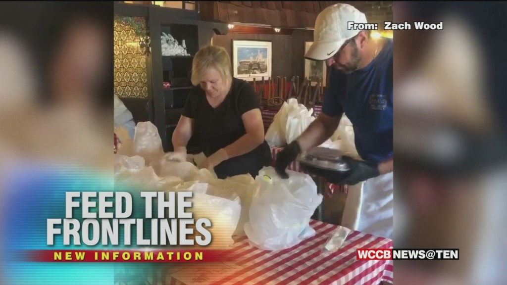 Feed The Front Line Charlotte Provides Thousands Of Meals For Health Care Workers