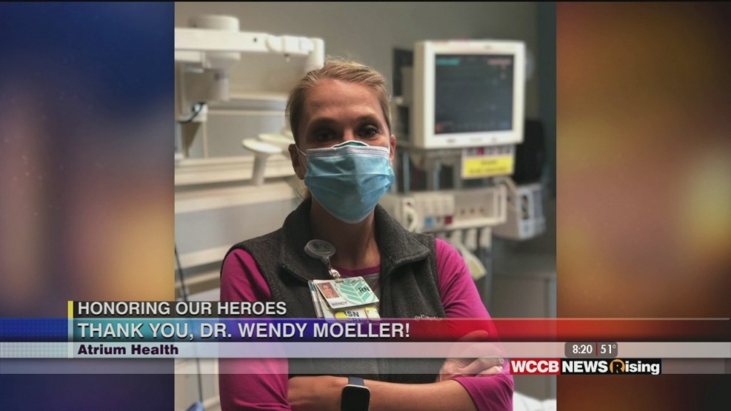 Honoring Our Heroes: Thank You, Dr. Wendy Moeller