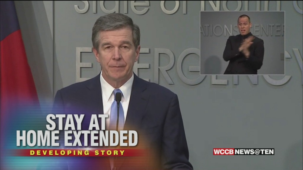 Gov. Cooper Unveils Three Phase Plan To Reopen The Economy And Ease Restrictions